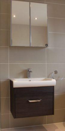 vanity basin & cabinet
