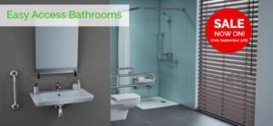 easy access bathrooms sale september