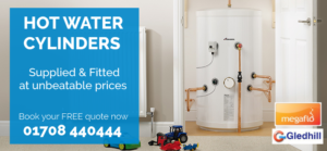 hot water cylinders supplied and fitted