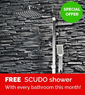 Free Scudo shower offer