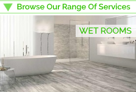 Wet room fitting services