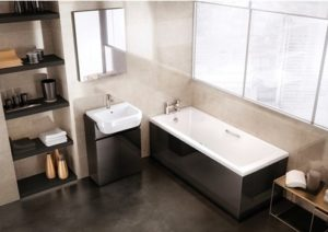 Sustain 1800 x 800 Single Ended Bath by Duck Bathrooms