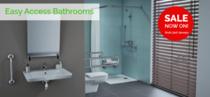 disabled bathroom sale now on