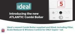 Ideal Atlantic combi boiler deal