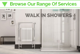 Walk in shower fitters Duck Bathrooms