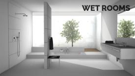 Wet Rooms built by Duck Bathrooms