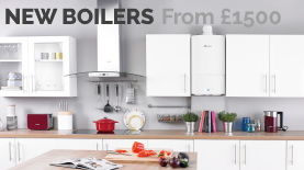 New Boilers from Duck Bathrooms prices starting from £1500